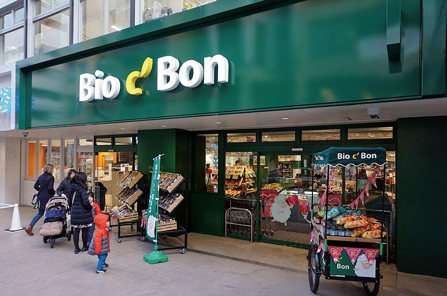 2016年12月に開店した1号店「ビオセボン麻布十番店」