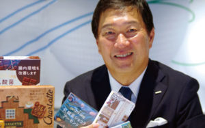 ロッテ代表取締役社長 牛膓栄一「個」の力を結集し感情に訴える商品をつくる画像