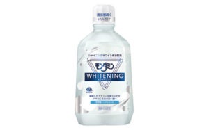 【アース製薬】ツヤめく本来の白い歯へ「モンダミン ホワイトニング」画像