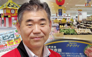 近商ストア社長 粕本源秀「来年度から新規出店を再開する」長期目標は売上1000億円画像