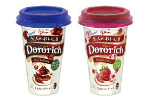 【江崎グリコ】すっきりとした味わいと心地よい食感「Dororich(ドロリッチ)」画像