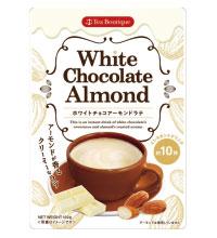 【日本緑茶センター】本格的な味わいが楽しめる「インスタントホワイトチョコアーモンドラテ」限定発売画像