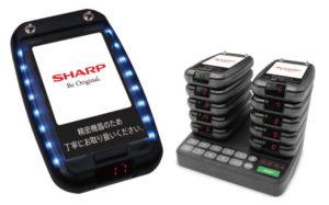 【シャープ】カウンターの混雑を緩和して店舗運営を効率化する「コールベルシステム」画像