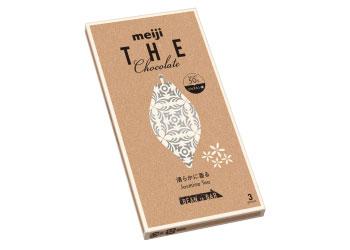 【明治】清々しい香りが広がる「明治ザ・チョコレート 清らかに香るジャスミンティー」画像