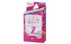 【花王】ニオイ垢※・皮脂を集中ケア「ビオレZ ディープクリアシート」画像