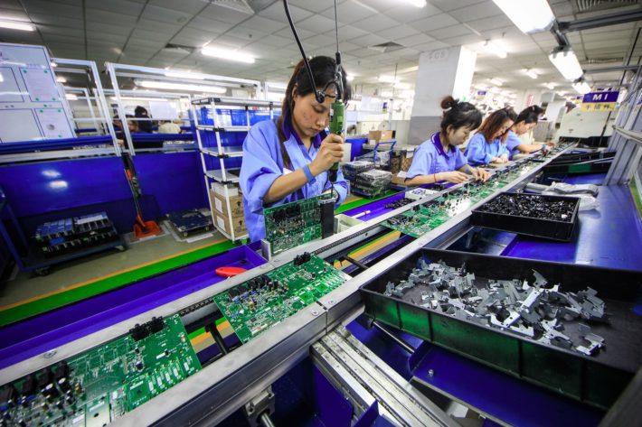 第4四半期中国GDP、前年比+6.4% 09年以来の低い伸び画像