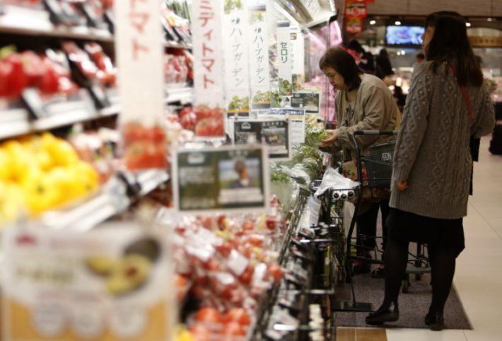 全国スーパー、10月の既存店は4.1%の減収、駆け込み需要の反動減