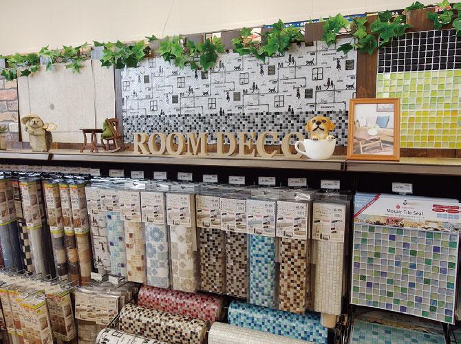 写真3●華やかな壁デコレーションのコーナー/グッデイひびきの店(福岡県北九州市)