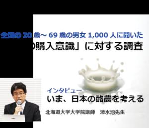 全国の20歳~69歳の男女1,000人に聞いた「牛乳の購入意識」に対する調査画像