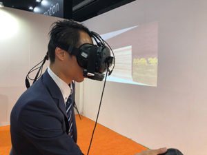 NEC、商品の香りを体験できるネットショッピングを想定したVRシステムを開発画像