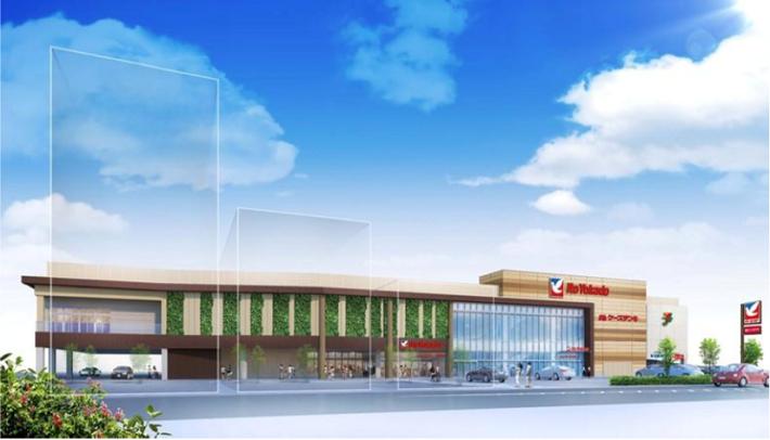 【ヨーカ堂】旧厚木店跡に「食品館」、マンションとの複合開発画像
