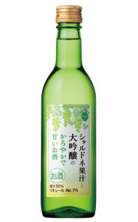 盛田「nenohi シャルドネ果汁と大吟醸のかろやかで甘いお酒」
