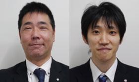 八坂健一郎氏  店長森慎治氏