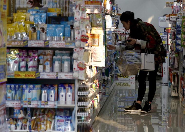買い物の様子