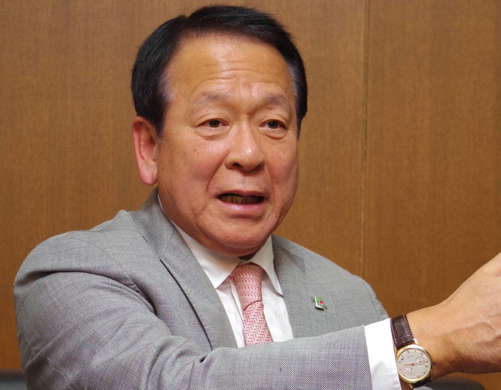 フジ尾﨑英雄会長兼CEO