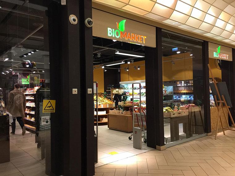 リトアニアのオーガニック専門スーパーマーケット、BIO MARKET