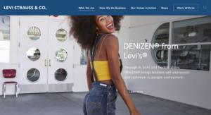 リーバイス社は顧客との新たなコミュニケーションを通じたマーケティングの仕組み、D2C(Direct to Consumer)を試みている