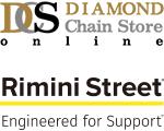 ダイヤモンド・リテイルメディア 日本リミニストリート ロゴ
