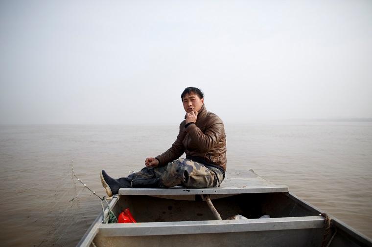 漁夫のSun Lianxiさん
