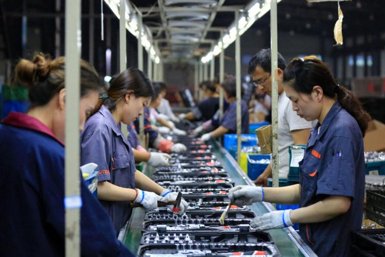 江蘇省にある工場