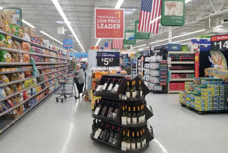 ジョージア州の米ウォルマート店舗