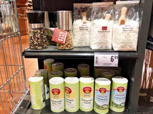 ザルツブルクの天然塩とオーガニックのハーブソルト