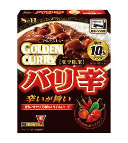 エスビー食品 ゴールデンカレーレトルト バリ辛