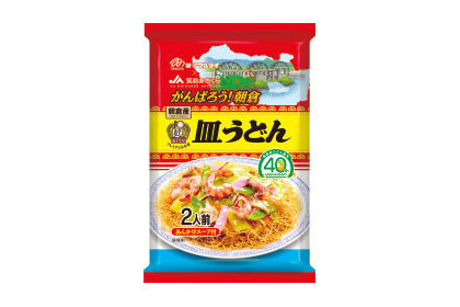 マルタイ 福岡県朝倉産ラー麦皿うどん