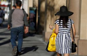 米個人消費 カリフォルニア州で2017年6月撮影