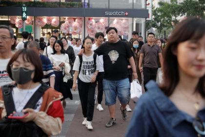北京のショッピング街