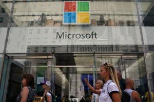米マイクロソフト
