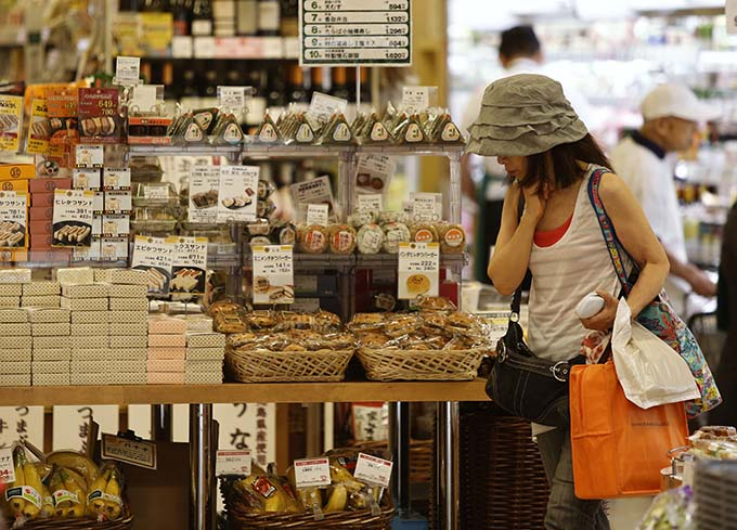 都内のスーパーマーケット