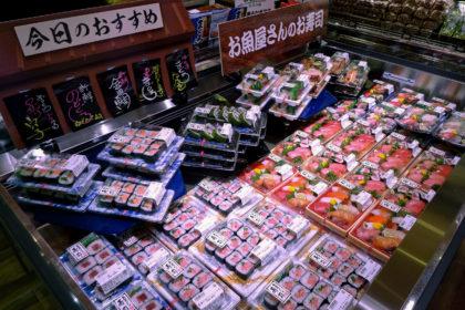 見た目にも進化する水産部門の寿司