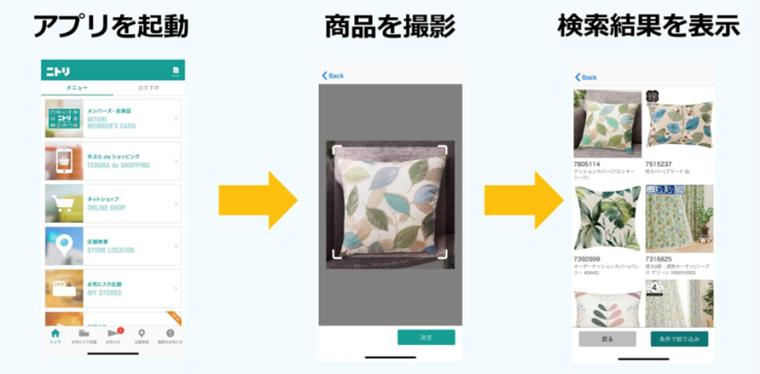 ニトリ公式アプリ