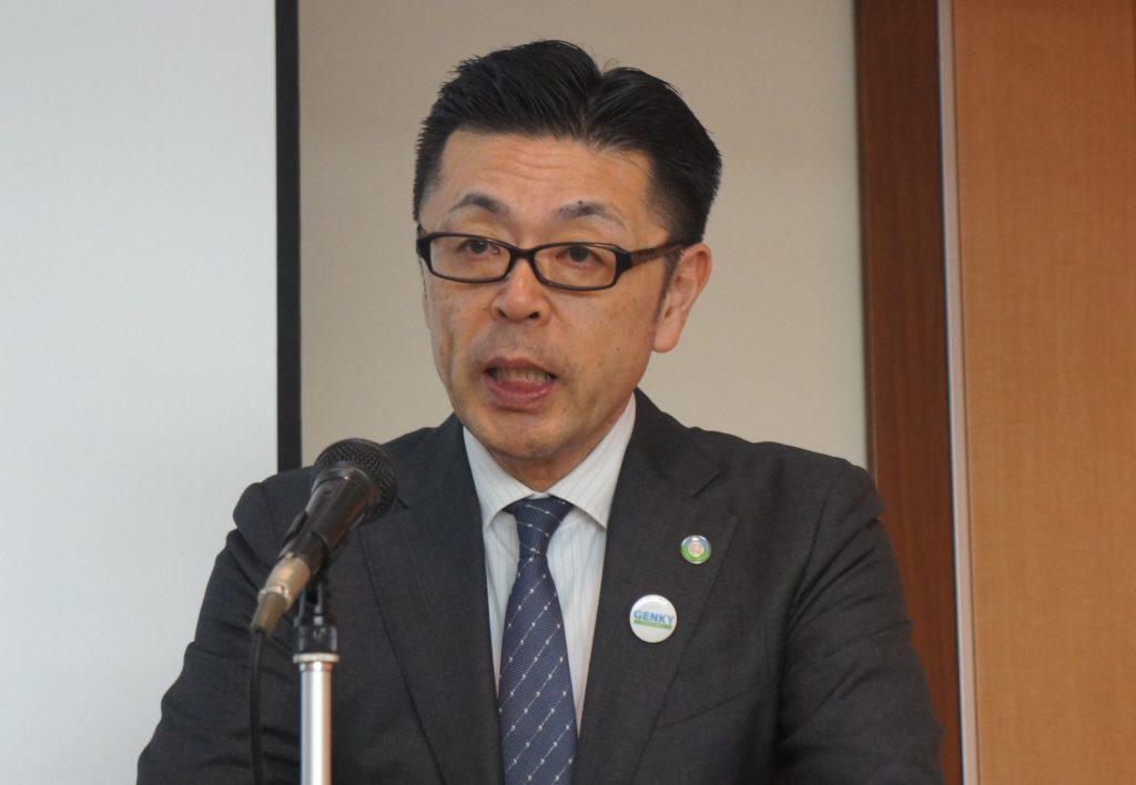 Genky DrugStoresの藤永賢一社長