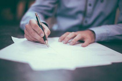 ビジネス 文書 契約