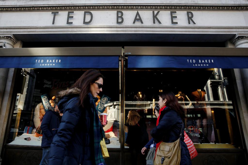 英テッドベーカーの店舗