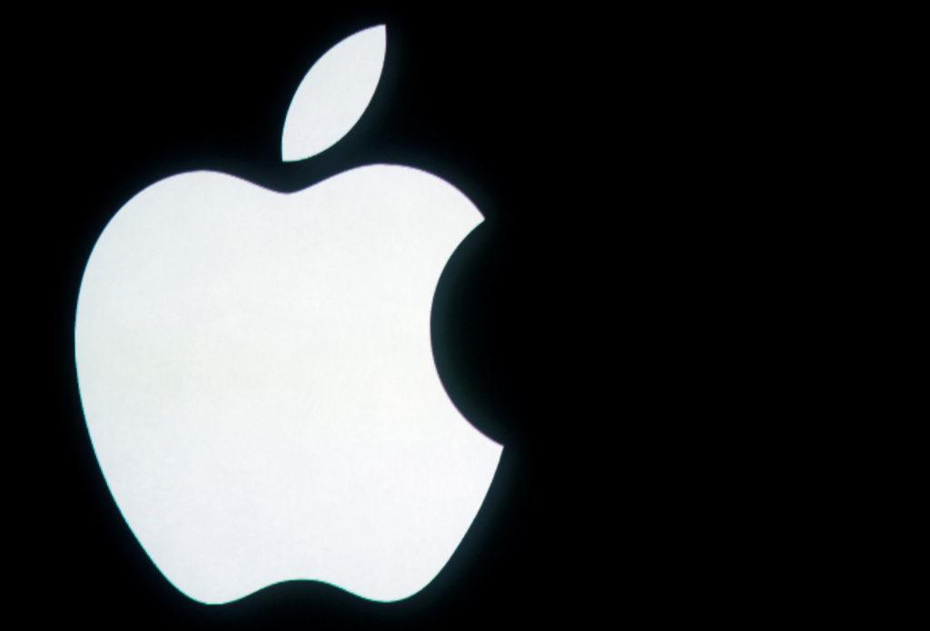 米アップルロゴ