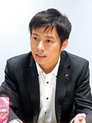 マーケティング部 第二グループ ブランドマネージャー 石田 晃三 氏