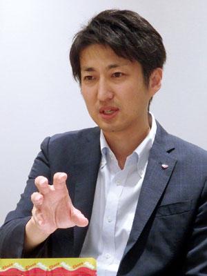 マーケティング部 第一グループ ブランドマネージャー 杉本 和久 氏