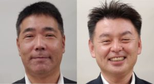 八坂マネージャーと松本店長