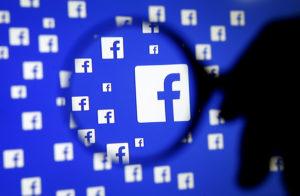 米フェイスブック ロゴイメージ