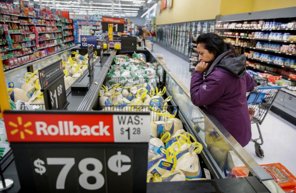 シカゴのスーパーの様子