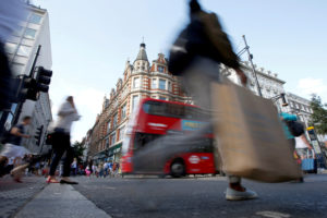 ロンドンのオックスフォード通り。