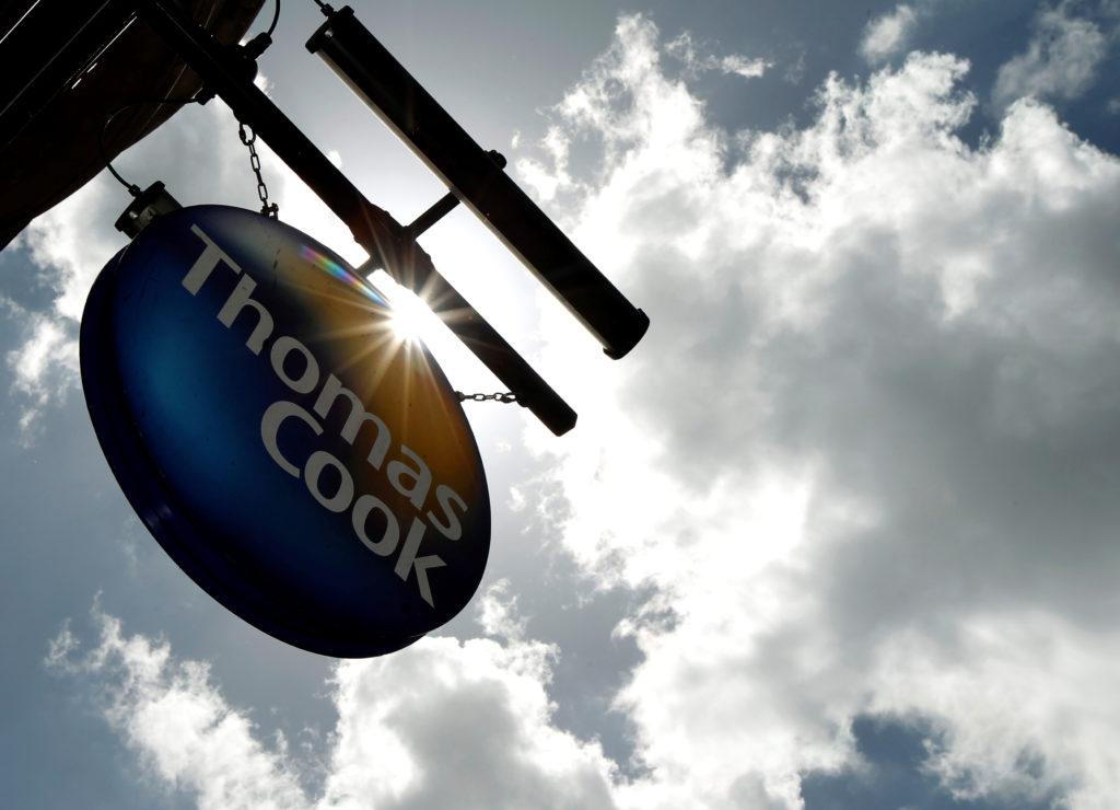 トーマスクック社の看板