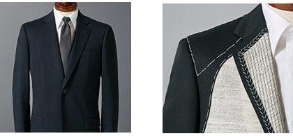 ユニクロセミオーダースーツの写真