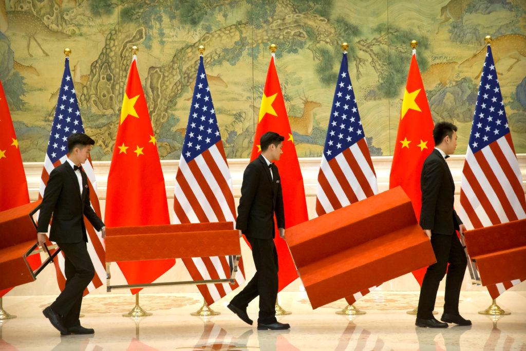 米中貿易のイメージ