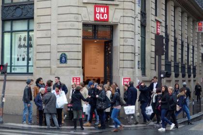 パリのユニクロ店舗