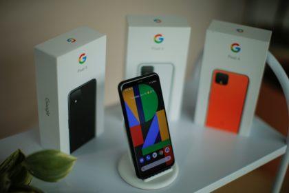 最新型スマートフォン「Pixel 4(ピクセル・フォー)