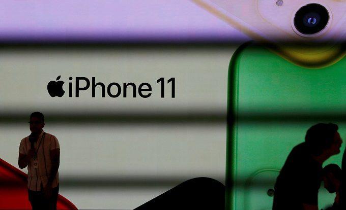 iphone11ロゴ
